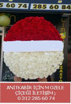 Anıtkabir için mozele çiçeği çelengi  Ankara Anadolu çiçekçi telefonları