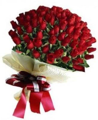 Kız isteme söz nişan çiçeği buketi 41 güllü  Ankara Anadolu çiçek gönderme
