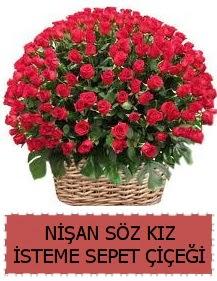 Kız isteme söz nişan çiçeği Sepeti 91 güllü  Ankara Anadolu çiçek gönderme sitemiz güvenlidir