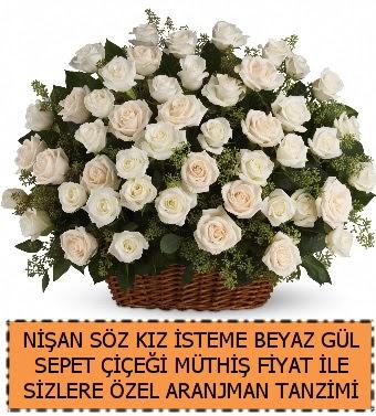 Söz nişan kız isteme çiçeği 33 beyaz gül  Ankara Anadolu çiçek gönderme sitemiz güvenlidir