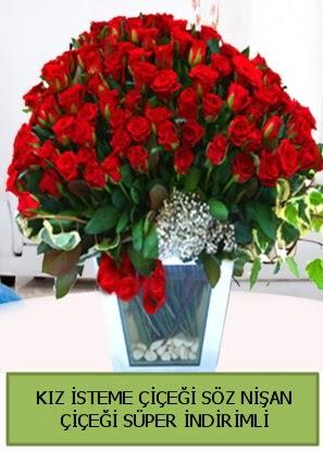 Söz nişan kız isteme çiçeği 71 gülden  Ankara Anadolu Anadolu İnternetten çiçek siparişi