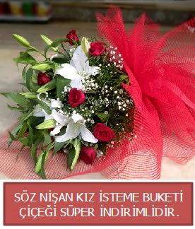 Söz nişan kız isteme buketi  Ankara Anadolu çiçekçi telefonları