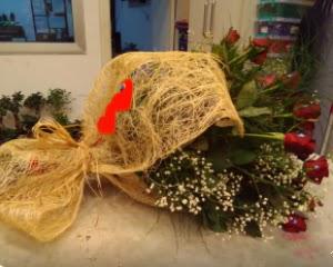 21 adet kırmızı gül kız isteme buketi  Ankara Anadolu çiçek gönderme