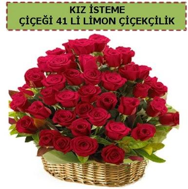 41 Adet gül kız isteme çiçeği modeli  Ankara Anadolu çiçekçi telefonları