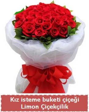 Kız isteme çiçeği buketi 29 kırmızı gül  Ankara Anadolu çiçekçi telefonları