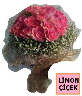 Pembe gül kız isteme söz nişan çiçeği  Ankara Anadolu çiçek gönderme