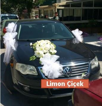 Gelin arabası süslemesi düğün arabası  Ankara Anadolu çiçek gönderme