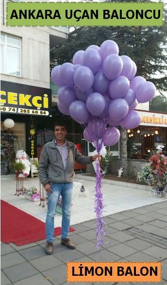 Ankara 50 adet istenilen renkte uçan balon  Ankara Anadolu ucuz çiçek gönder