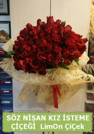 51 adet güllü Söz nişan kız isteme çiçeği  Ankara Anadolu ucuz çiçek gönder