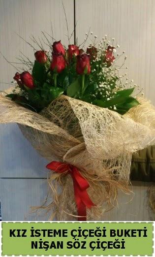 19 adet gülden kız isteme nişan çiçeği  Ankara Anadolu internetten çiçek satışı