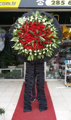 Cenaze çiçeği cenaze çelengi çiçek modeli  Ankara Anadolu Anadolu İnternetten çiçek siparişi