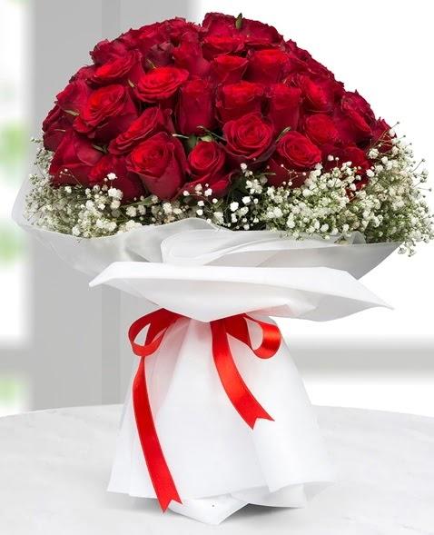 41 adet kırmızı gül buketi  Ankara Anadolu çiçek satışı  süper görüntü