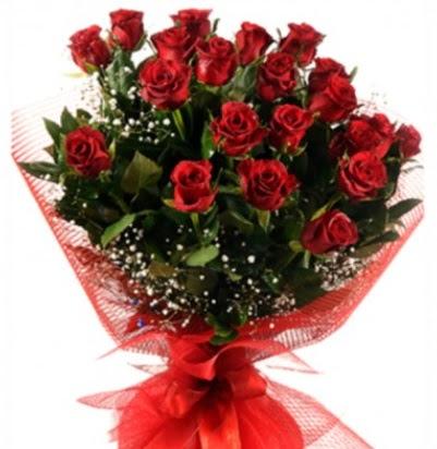 Kız isteme buketi çiçeği sade 27 adet gül  Ankara Anadolu çiçek gönderme sitemiz güvenlidir