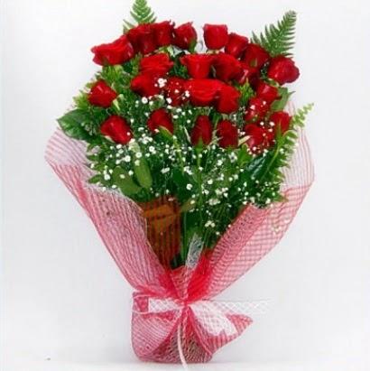 Kız isteme buketi çiçeği sade 29 adet gül  Ankara Anadolu çiçekçi telefonları