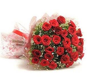 27 Adet kırmızı gül buketi  Ankara Anadolu ucuz çiçek gönder