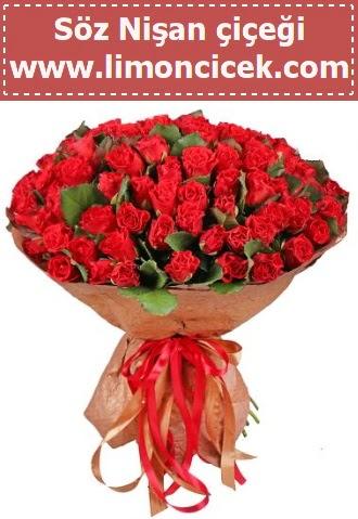 Kız isteme söz nişan çiçeği 101 gül  Ankara Anadolu çiçek gönderme sitemiz güvenlidir