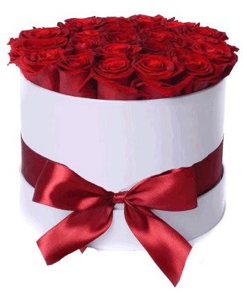 29 adet kırmızı gülden kutu çiçeği  Ankara Anadolu güvenli kaliteli hızlı çiçek