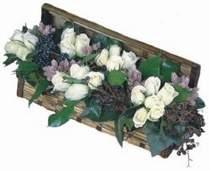 Ankara Anadolu internetten çiçek siparişi  13 adet beyaz sandikta gül